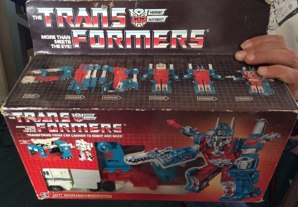 Transformers ULTRA MAGNUS CITY COMMANDER