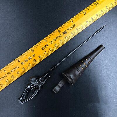 """1//6 Scale 6/"""" Sword and Scabbard For 12/"""" Action Figure Model Zorro Rapier Replica"""