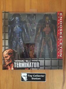 Assault 2-pack Neca 2014 Heller Glanz Terminator Robocop Vs Endoskeleton Misb