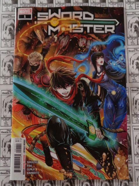 Sword Master (2019) Marvel - #1, Shuizhu/Greg Pak/Gunji/Kris Anka, VF