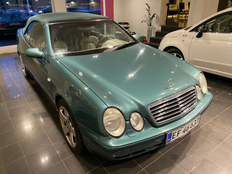 Mercedes CLK320 3,2 Elegance aut. Benzin aut. Automatgear