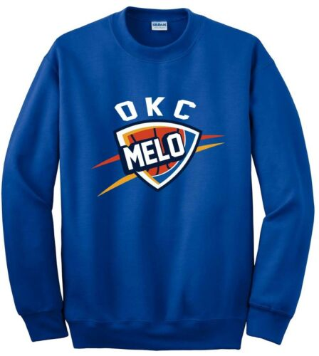 "Carmelo Anthony Oklahoma City Thunder /""LOGO/"" jersey shirt Hooded SWEATSHIRT"