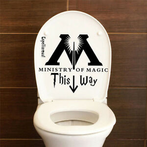 1x-Harry-Potter-Ministry-Of-Magic-This-Way-Bathroom-Toilet-Seat-Wall-Sticker-Hot