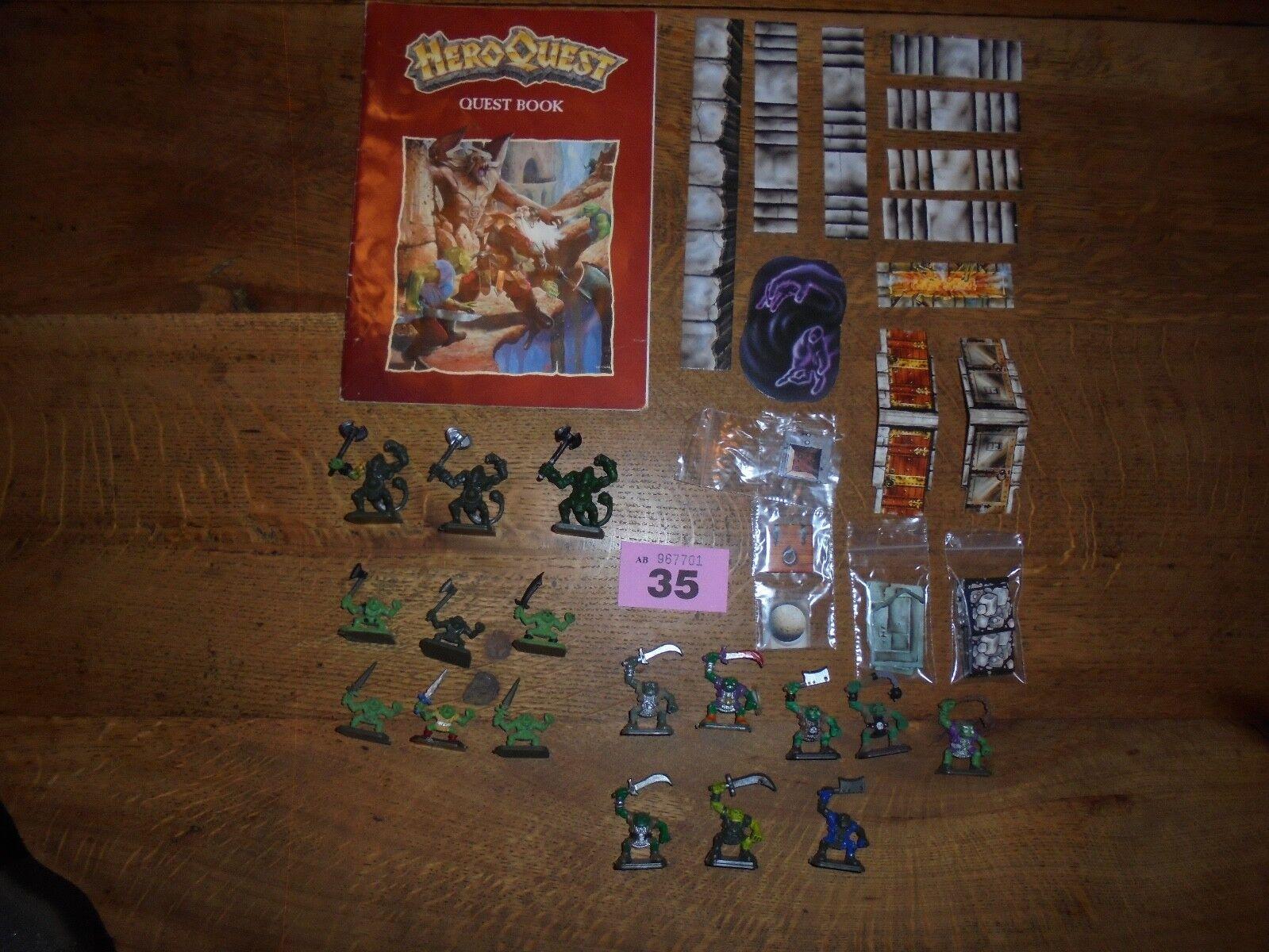 Games Workshop Kellars Keep Expansion Set For Heroquest Board Game Game Game Painted 9c7