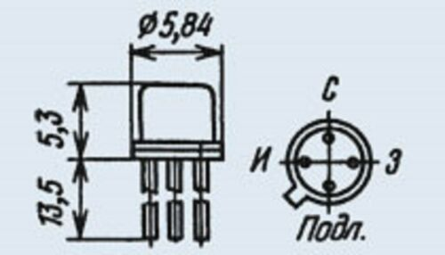 KP307A = 2N5394 Military Silicon Transistor USSR  Lot of 10 pcs