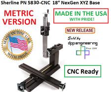 Sherline 5830 Cnc Metric 18 Nexgen Xyz Base Cnc Ready See 5825 Cnc For Inch