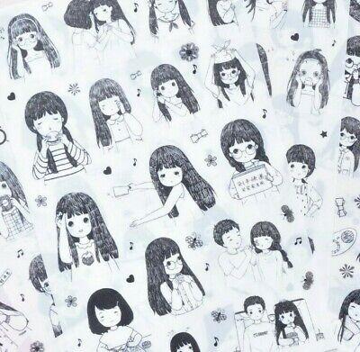 Natsume Yuujinchou Transparent Stickers Anime Manga Diary Japanese Stationery