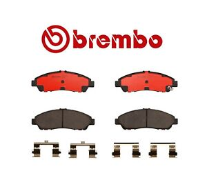 Rear Disc Brake Pad CERAMIC for Acura MDX ZDX Honda Odyssey Pilot Brembo