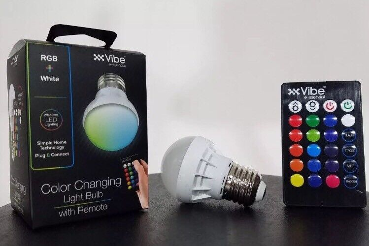 Buy Vibe E Ssential 4 Mode 15 Color Changing Led Light Bulb W