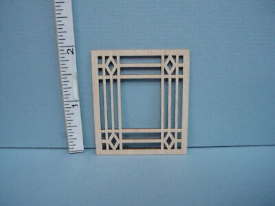 Miniature Decorative Window Mullion #IW Laser Creations 1//12th Scale
