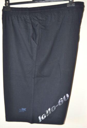 BERMUDA UOMO TAGLIE FORTI taglia 3XL pantalone maglina BE BOARD oversize Blu