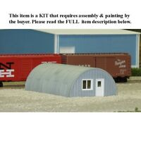 N Scale: quonset Hut - Rix Products Kit 628-0710