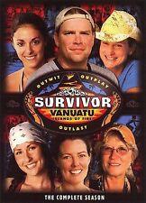 Survivor Vanuatu - The Complete Season New DVD! Ships Fast!
