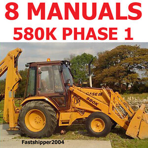 Case-Phase-1-580-K-Loader-Backhoe-Shop-Service-Repair-Manuals-Parts-Operator-CD