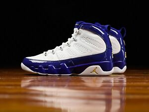 4add495cf18 Nike Air Jordan 9 Retro 302370-121 SIZE 12 USA KOBE BRYANT LAKERS ...