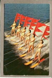 Postcard-FL-Winter-Haven-Cypress-Gardens-Aquamaids-Skiing-2143H