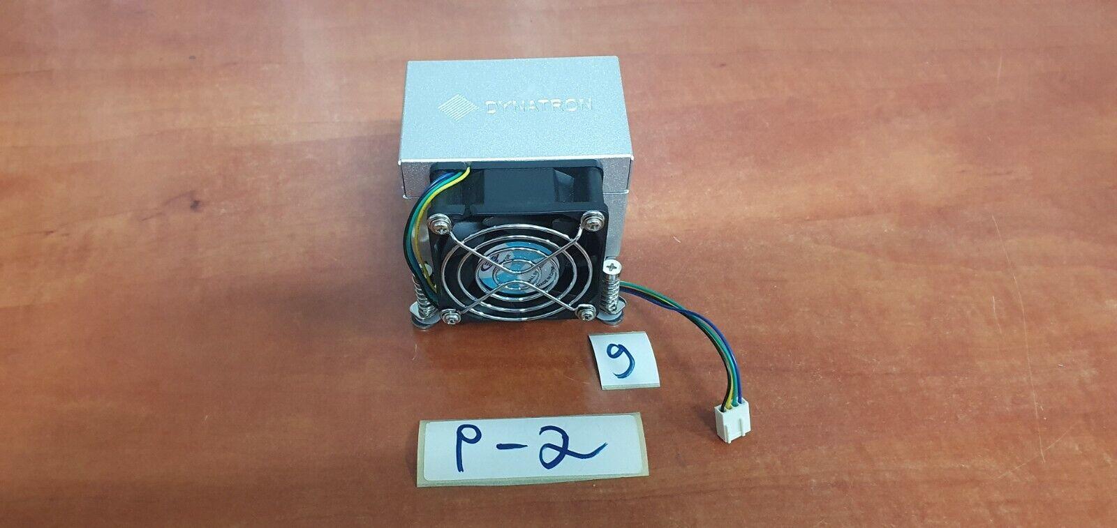 Dynatron P66 P66G Socket 775 2U CPU Cooler Fan, Heatsink
