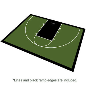 Outdoor-Basketball-Half-Court-Kit-46-039-x-30-039-Lines-and-Edges-Included-Green-Black
