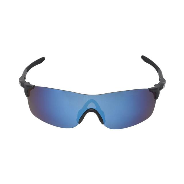 0b1b36ad247 Buy Walleva Fire Red Ice Blue Polarized Replacement Lenses for Oakley  Evzero Pitch online