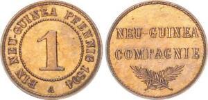 1 Guinea Peniques 1894A Imperio Pp , Mínimamente Berührt (50055)