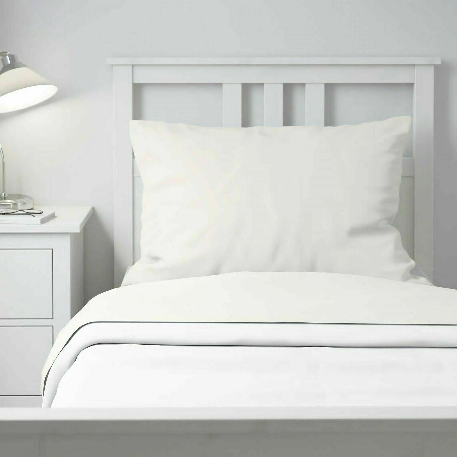 Flat, Fitted, 1 Pillowcase New IKEA AGNSAV Twin Sheet set lilac Purple