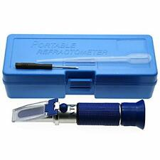 Brix Refractometer With Atc For Liquid Fruit Canned Food Sugar Content Test 032