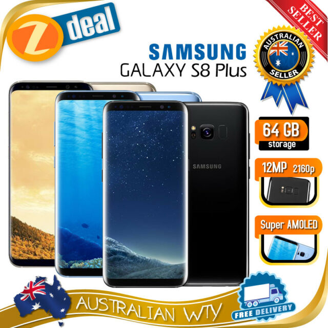 (AU STOCK) SAMSUNG GALAXY S8+ PLUS SM-G955F 64GB UNLOCKED SR (GENUINE SAMSUNG)