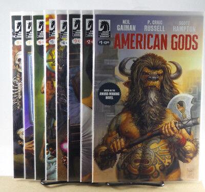 NEIL GAIMAN AMERICAN GODS MY AINSEL #1 2 3 4 NM Dark Horse Comics 2018