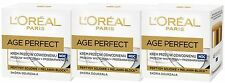 3 X 50 Ml Loreal Paris Age Perfect rehidrata, Crema De Noche (Anti Age Manchas)