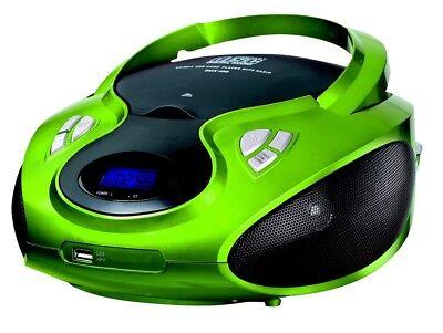 Kompaktanlage Cd-radio Cd-player Stereoanlage Kinder Radio Boombox