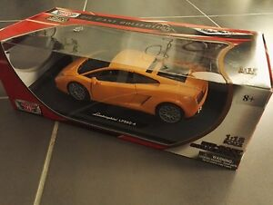 Voiture Miniature Lamborghini Gallardo Lp560-4 Orange Encore Emballée