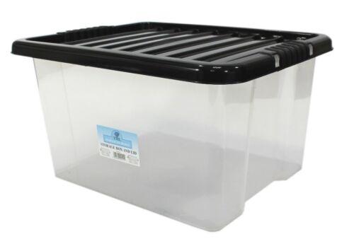 De rangement en plastique 35 litres boîtes-multi-packs-fort durable promotionnels! jouets! bon marché