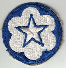 WWII Original US Army Service Forces Training Center Units SSI Patch Cut Edge