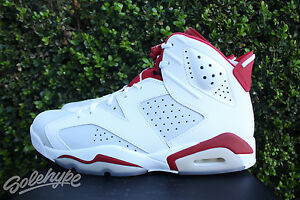 Air Jordan 6 Retro Alternate VI AJ6 men sneakers NEW white