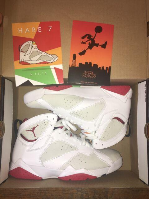 125 Air White 10 Nike Size True Jordan Hare Vii 304775 7 Bugs Bunny Red Retro NmnO0vw8
