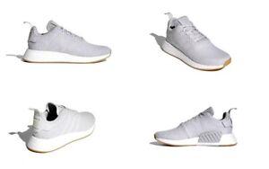 adidas Nmd_R2 Primeknit Grey Mens Size 5 D