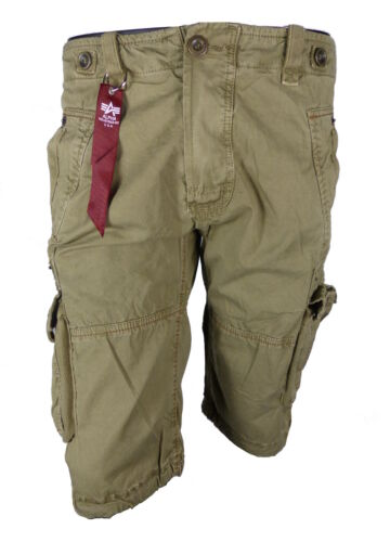 Alpha Industries Terminal Short 181210 Tasche Cargo Beige Pantaloni Corti Bermuda
