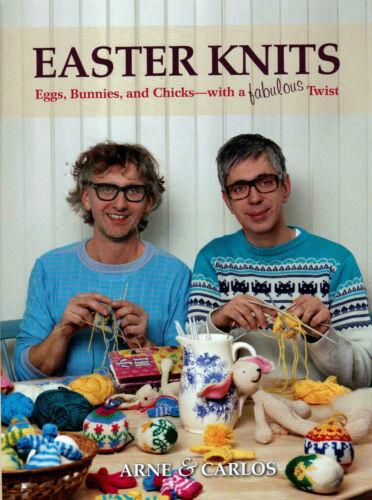 Bunnies /& Cute Chicks Quick Fun Holiday Knitting Pattern Book Easter Knits Eggs