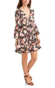 Thyme-and-Honey-Women-039-s-Floral-V-Neck-DressThyme-and-Honey-Women-039-s-Floral-i10