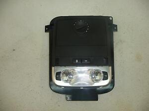 08 09 PONTIAC G8 Black Overhead Console Top w/ Sunroof Overhead #25224 MORAD