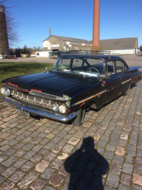 Chevrolet Bel Air, Benzin, 1959, km 45000, sort, Den eneste…