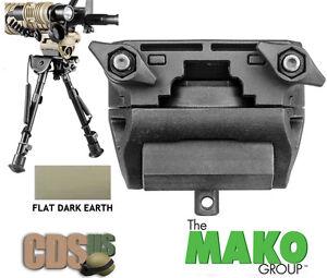 MAKO FAB DEFENSE Harris Bipods Tilting & Rotating Picatinny Adaptor H-POD FDE