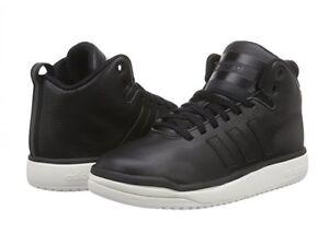Adidas Veritas Lea Damen Hi Sneaker Boots Schuhe schwarz Leder Gr. 42 (41)