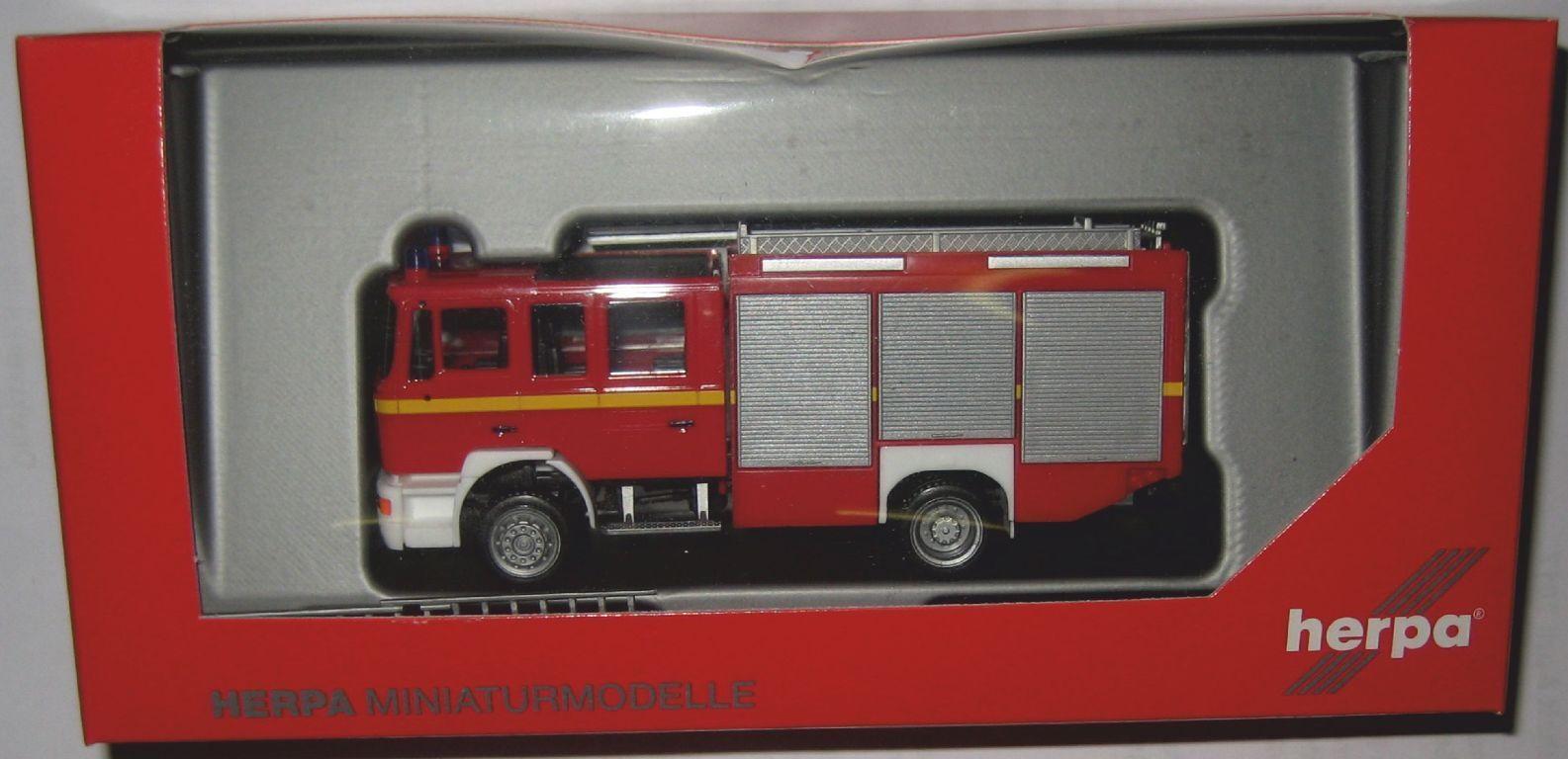 Herpa 092906 Man F 2000 HLF 20 Pompier Pompiers 1 87 HO