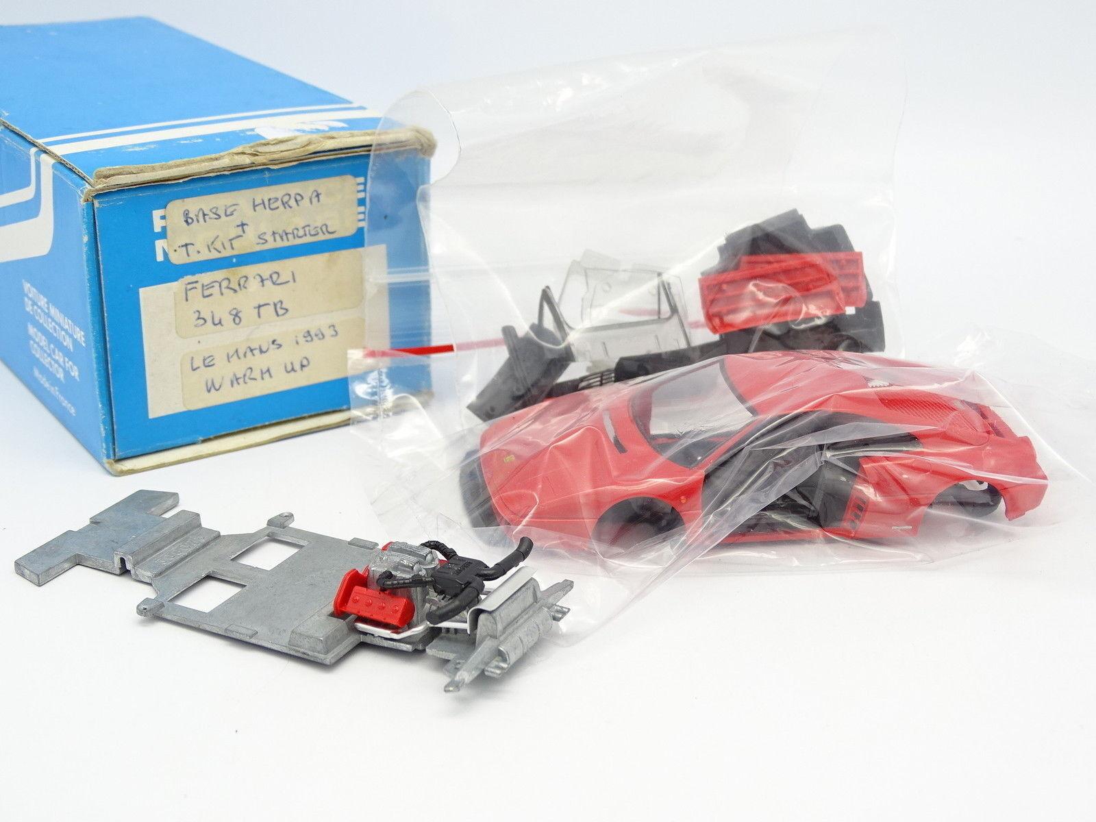Provence Moulage Kit à Monter 1 43 - Ferrari 348 TB (base Herpa)