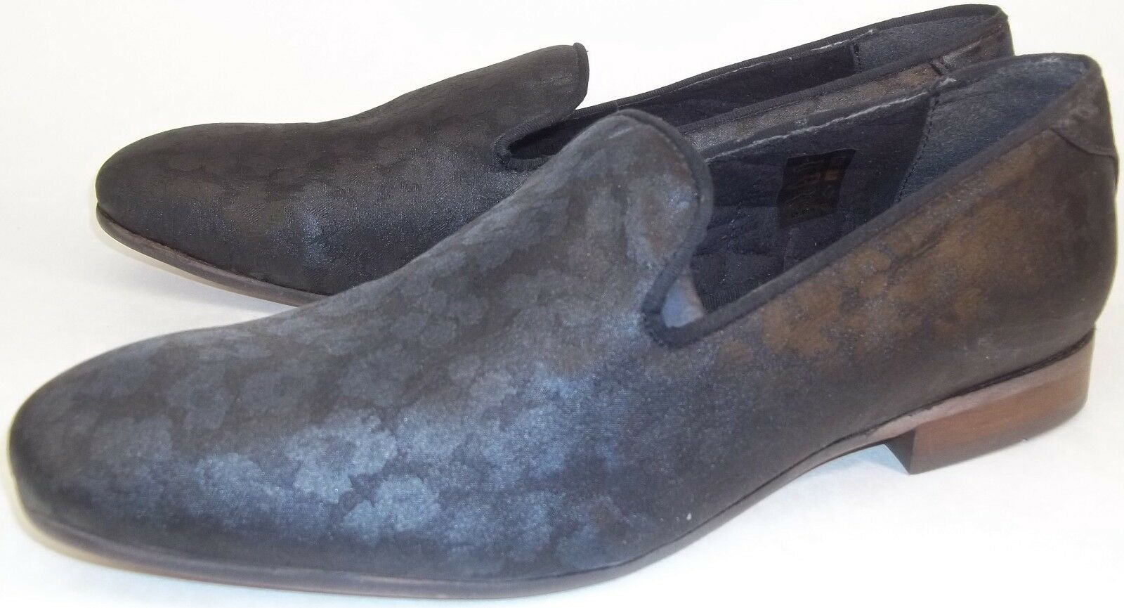 Scarpe casual da uomo  H by Hudson uomos Shoes Loafers EU43 US10 Rowan Casual Designer Smoking Slippers