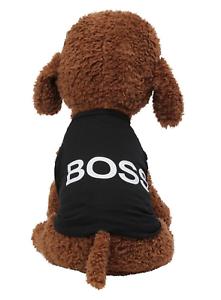Boss Security Black Dog Sweatshirt Hoodie Dog Sweater Dog Jumper Clothing Uk Ebay
