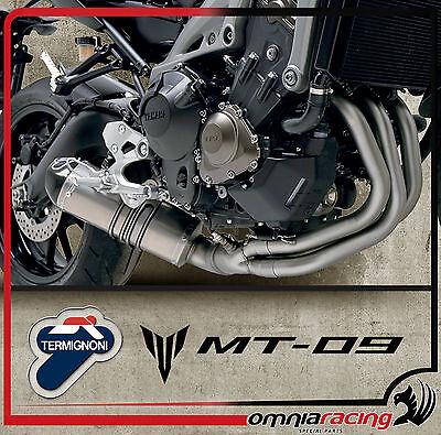 Termignoni Titanio - Yamaha MT 09 FZ 09 2013 13> Impianto di Scarico Completo