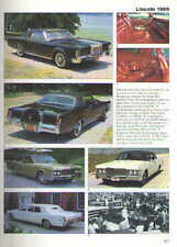 1969 Lincoln Continental + Mark III Article - Must See !! + Limo + Show Car