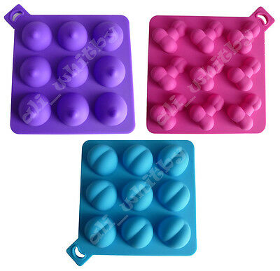 Willy Boobie Bum 100% SILICONE Baking moulds ice cube trays stag hen night cake